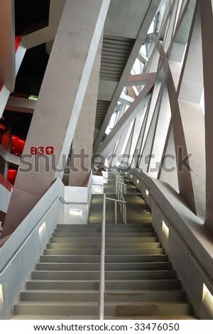 Beijing National Stadium (Bird's Nest/Olympic Stadium) - stock photo