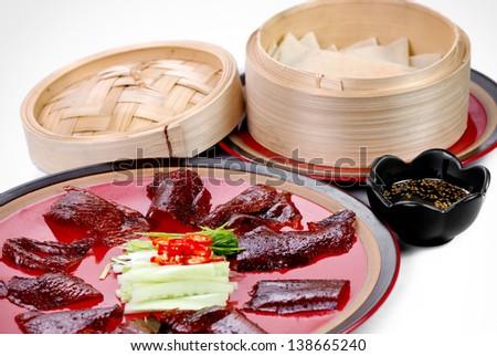 Beijing Roasted Duck - stock photo