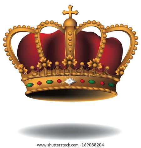 Bejeweled crown. Jpg. - stock photo