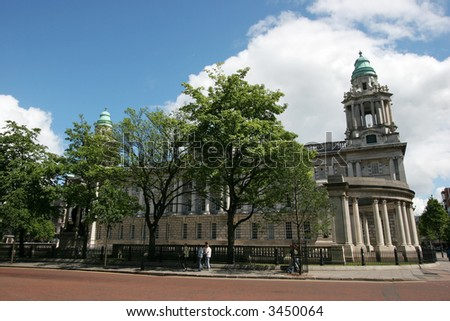 belfast city hall, belfast, ireland