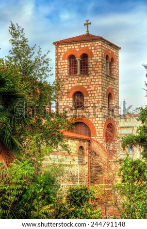 Belfry of the Church of Saint Demetrius in Thessaloniki, Greece
