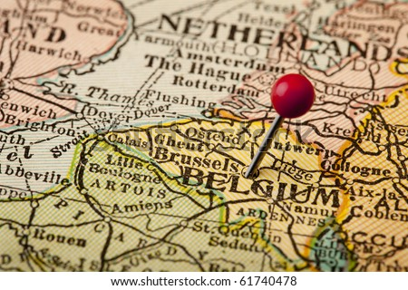 Belgium Map Stock Images RoyaltyFree Images Vectors Shutterstock - Brussels on world map