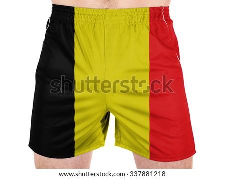 Belgium. Belgian flag - stock photo