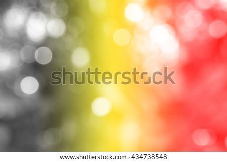 BELGIUM : National flag. Soft blurred bokeh natural background. Abstract gradient desktop wallpaper.  - stock photo