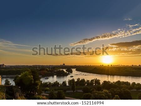 Belgrade,Serbia - stock photo