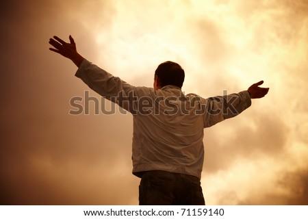 belief - stock photo