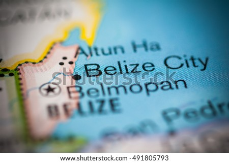 Belize City. Central America.