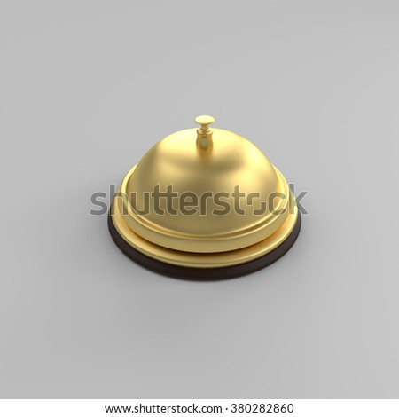 Bell 3D isolated