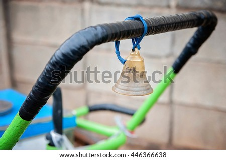 bell /Focus selection - stock photo