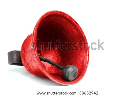 bell on white background