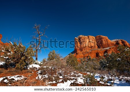 Bell Rock - stock photo