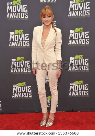 Bella Thorne at the 2013 MTV Movie Awards at Sony Studios, Culver City. April 14, 2013  Los Angeles, CA Picture: Paul Smith - stock photo