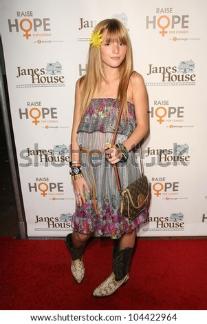 Bella Thorne at the Raise Hope for the Congo Hollywood Event. Janes House, Los Angeles, CA. 06-28-09