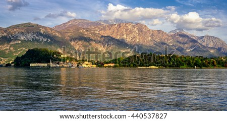 Bellagio Lago di Como (Lake Como) high definition panorama