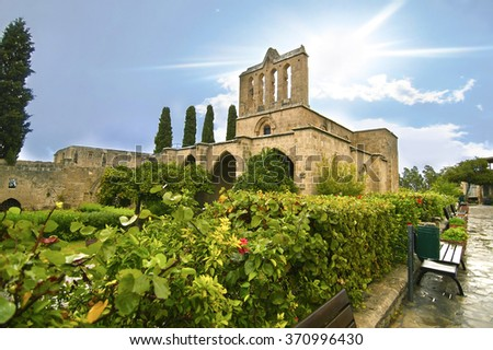 Bellapais Abbey in Northern occupied Cyprus - Bellapais monastery