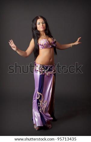 Belly dancer - stock photo
