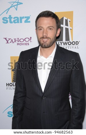 Ben Affleck at the Hollywood Film Festival's 11th Annual Hollywood Awards at the Beverly Hilton Hotel. October 23, 2007  Los Angeles, CA Picture: Paul Smith / Featureflash