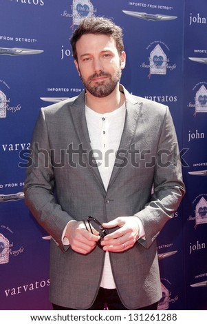 Ben Affleck at the 10th Annual John Varvatos Stuart House Benefit, John Varvatos Boutique, Beverly Hills, CA 03-10-13 - stock photo