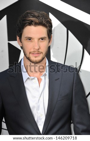 Ben Barnes at the premiere of Pacific Rim at the Dolby Theatre, Hollywood. July 9, 2013  Los Angeles, CA