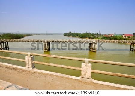 Ben Hai River, Divided North and South Vietnams - Quang Tri
