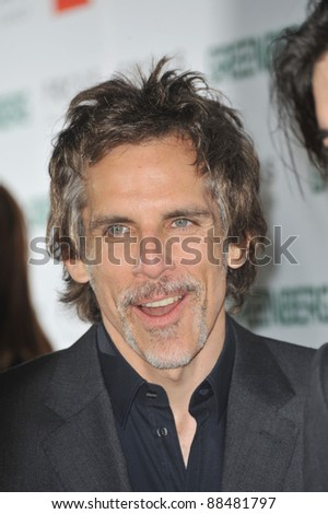 "Ben Stiller at the Los Angeles premiere of his new movie ""Greenberg"" at the Arclight Theatre, Hollywood. March 18, 2010  Los Angeles, CA Picture: Paul Smith / Featureflash"