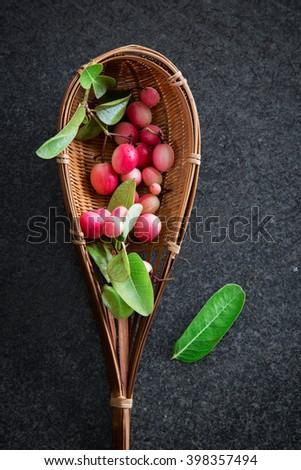 Bengal-Currants, Carandas-plum, Karanda - stock photo