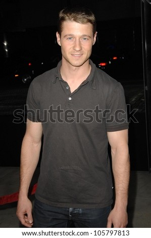 Benjamin McKenzie  at the Los Angles Premiere of 'American Identity'. Samuel Goldwyn Theatre, Beverly Hills, CA. 03-25-09