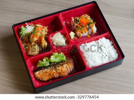 bento box stock images royalty free images vectors shutterstock. Black Bedroom Furniture Sets. Home Design Ideas