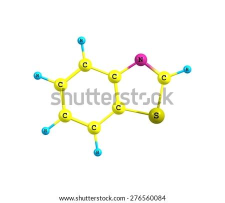 Benzothiazole is an aromatic heterocyclic compound. It is colorless, slightly viscous liquid.