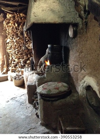 Berber Kitchen 2 - stock photo