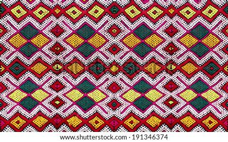 Berber moroccan carpet. - stock photo