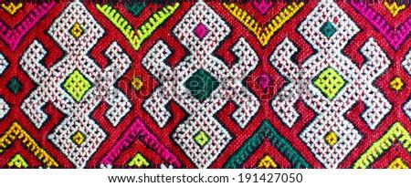 Berberian carpet (Morocco) - stock photo