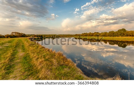 Berezin - a river in Belarus, the right tributary of the Dnieper. The longest river, which for all its current located in Belarus.