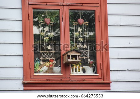 Bergen Norway - A nice window