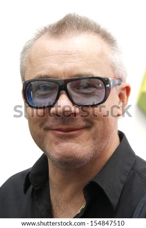 "BERLIN-APRIL 30, 2010 : Damien Hirst at the opening of the exhibition ""Have You Ever Really Looked at the Sun?"" with works by Damien Hirst and Michael Joo, Galerie Haunch of Venison, Berlin."