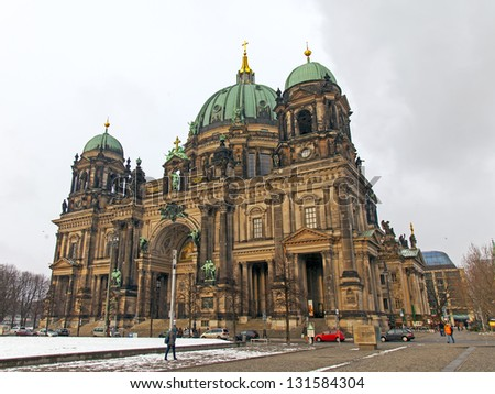 Berlin. Cathedral - stock photo