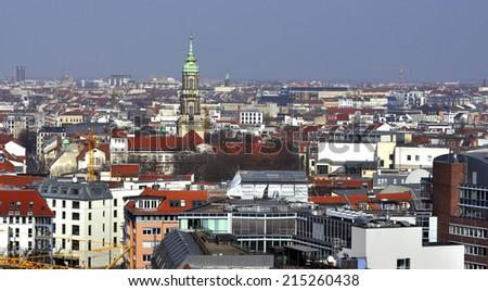 Berlin Cityscape  - stock photo