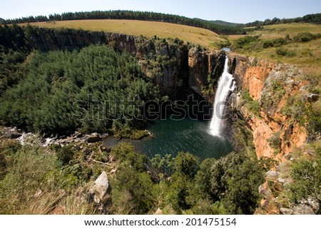 Berlin Falls, waterfall in South Africa