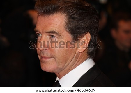 BERLIN - FEBRUARY 12: Actor Pierce Brosnan attends 'The Ghost Writer' Premiere during   day two of the 60th Berlin Film Festival at the Berlinale Palast on February 12, 2010 in Berlin, Germany