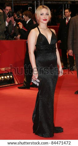 BERLIN - FEBRUARY 10: Hayden Panettiere attends 'Fireflies In The Garden' Premiere at the 58th Berlinale Film Festival at the Berlinale Palast on February 10, 2008 in Berlin, Germany.