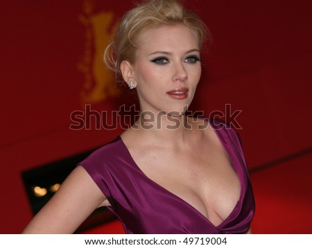BERLIN - FEBRUARY 15: Scarlett Johansson attends The Other Boleyn Girl premiere during day nine of the 58th Berlinale Film Festival at the Berlinale Palast on February 15, 2008 in Berlin, Germany - stock photo