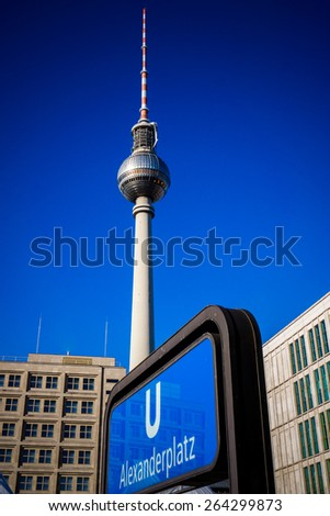 Berlin, Germany. Alexanderplatz