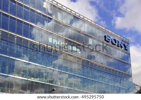 BERLIN,GERMANY-APR 28:Sony Center building on April 28,2016 in Berlin, Germany.The Sony Center  located at the Potsdamer Platz.
