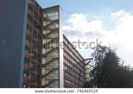 Schwedenhaus Berlin berlin germany august 7 2017 schwedenhaus stock photo 746469559