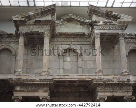 BERLIN, GERMANY - CIRCA JUNE 2016: Pergamonmuseum in Museumsinsel (meaning Museums Island)