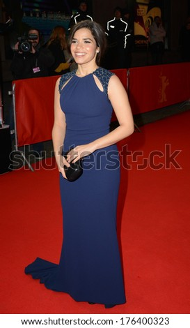 "BERLIN - GERMANY - FEBRUARY 12: America Ferrera at the 64th Annual Berlinale International Film Festival ""Cesar Chavez"" premiere at Friedrichstadt Palast on February 12, 2014 in Berlin, Germany."