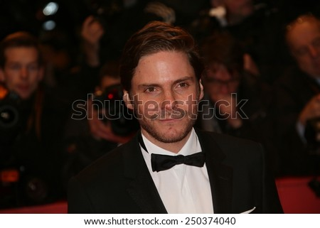 BERLIN, GERMANY - FEBRUARY 05:   Daniel Bruehl attends the opening party during the 65th Berlinale  Film Festival at Berlinale Palace on February 5, 2015 in Berlin, Germany. - stock photo