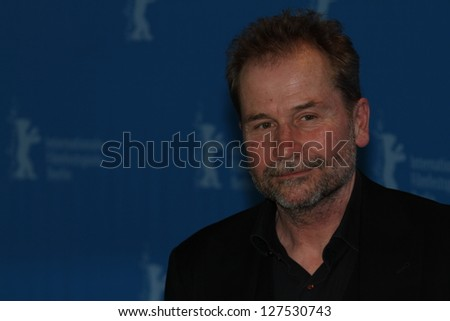 BERLIN, GERMANY - FEBRUARY 08:  Director Ulrich Seidl attends 'Paradise: Hope' Photocall - 63rd Berlinale International Film Festival at Grand Hyatt on February 8, 2013 in Berlin, Germany