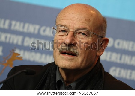 BERLIN, GERMANY - FEBRUARY 14: Director Volker Schloendorff attends the 'La Mer A L'Aube' press conference during of the 62nd Berlin Film Festival at the  Hyatt on February 14, 2012 in Berlin, Germany