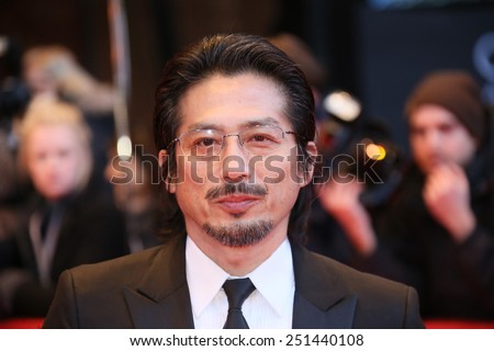 BERLIN, GERMANY - FEBRUARY 08: Hiroyuki Sanada attends the 'Mr. Holmes' premiere during the 65th Film Festival at Berlinale Palace on February 8, 2015 in Berlin, Germany.